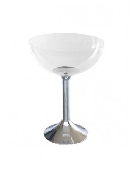 Champanheira Transparente em Acrílico com Base 76cm