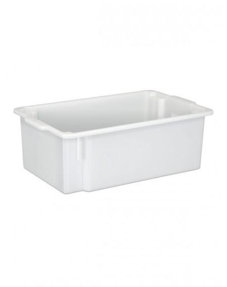 Caixa Branca Opaca Multi-Uso Empilhável 9,0L
