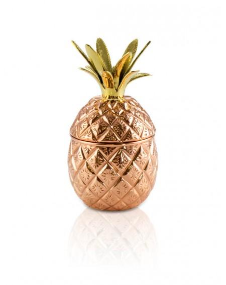 Abacaxi Decorativo em Cobre para Drinks