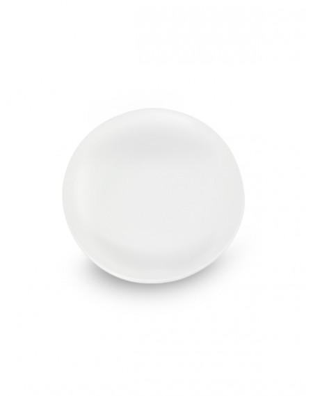 Prato Redondo Porcelana Branca Ø40cm