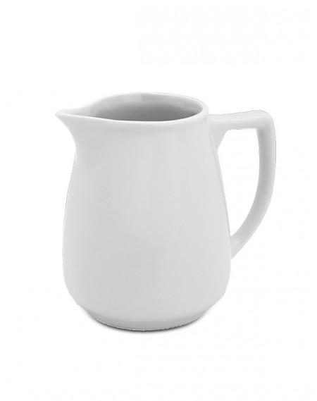 Jarra Porcelana Branca Geni 170ml