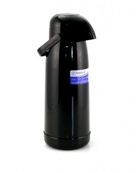 Garrafa Térmica Magic Pump 1,8 Litros Preta