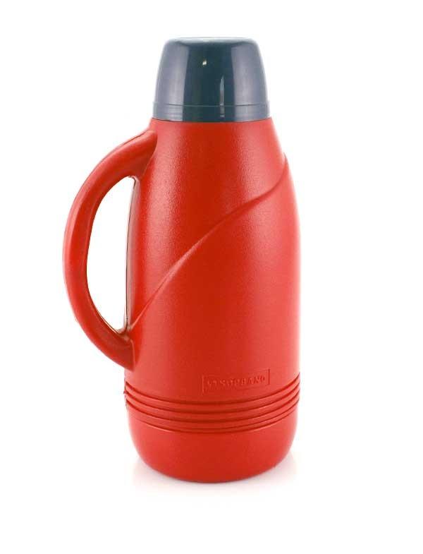 Garrafa Térmica Vermelha para Líquido Frio 1,6 Litros