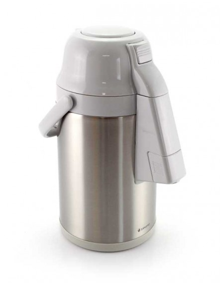 Garrafa Térmica Elefante Aço Inox 3 Litros Branca
