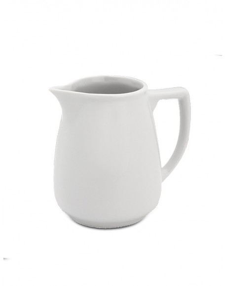 Mini Jarra Porcelana Branca Geni 60ml