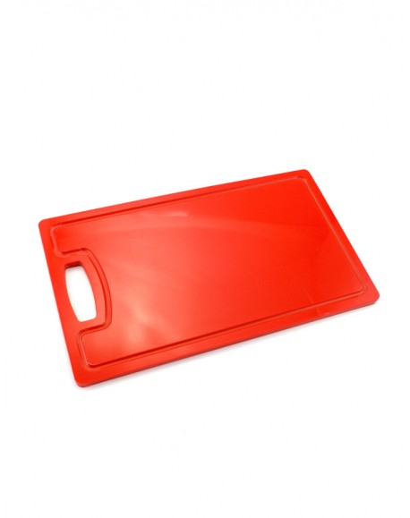 Tábua de Corte Vermelha para Carnes