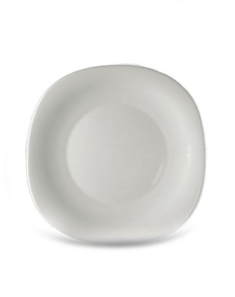 Prato Raso Branco Parma 27cm Bormioli