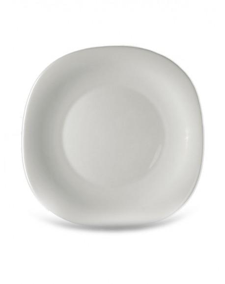 Prato Sobremesa Branco Parma 20cm Bormioli