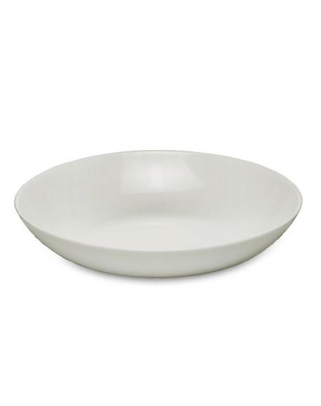 Prato Fundo Branco Ronda/Bombay Ø22cm Bormioli
