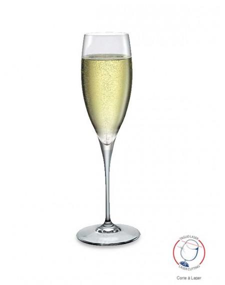 Taça para Champanhe Premium Flute 250ml Bormioli