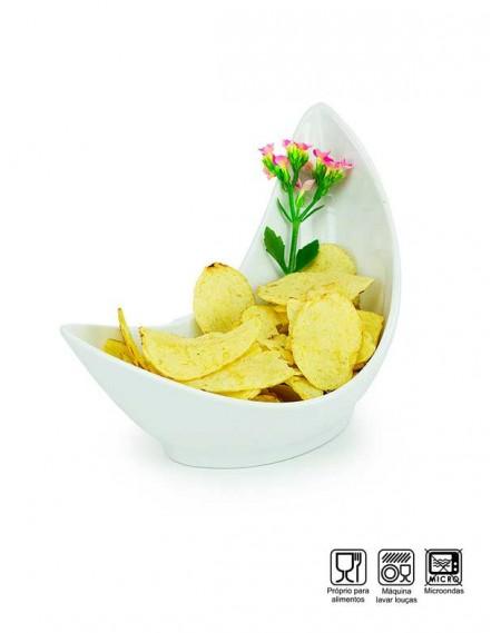Pote Bowl Formato Concha Melamina Profissional 24cm