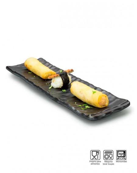 Travessa Sushi-Sashimi Melamina Profissional 32cm