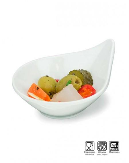 Tigela Gota Finger Food Melamina Profissional 8,5cm