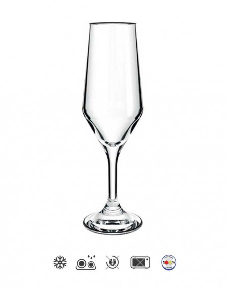 Taça para Champanhe Bistrô 186ml Cisper