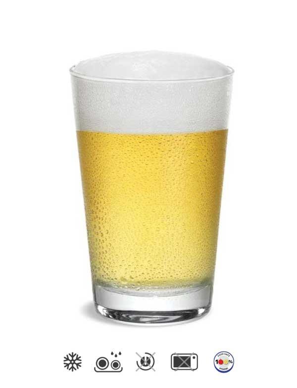 Copo de Cerveja Caldereta 350ml Cisper