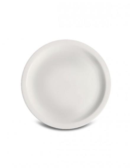 Prato Sobremesa Iguaçu Porcelana Branca Germer Ø20cm