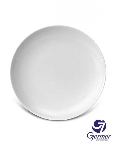 Prato Arroz Coup Porcelana Branca Germer Ø30cm