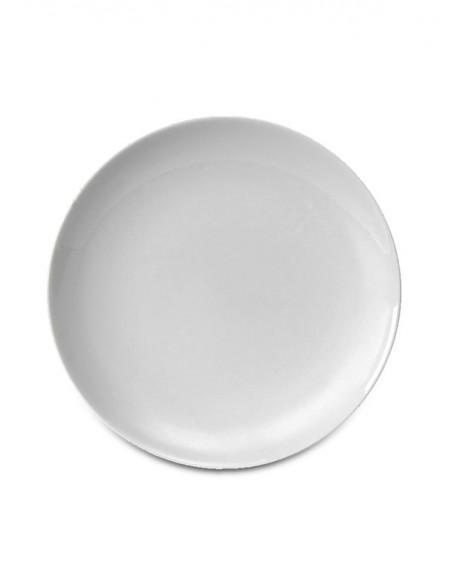Prato Raso Coup Porcelana Branca Germer Ø27cm