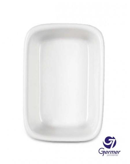 Travessa Retangular Funda BarHotel Porcelana Branca Germer 37cm