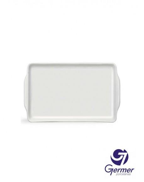 Bandeja Marmelada BarHotel Porcelana Branca Germer 18cm