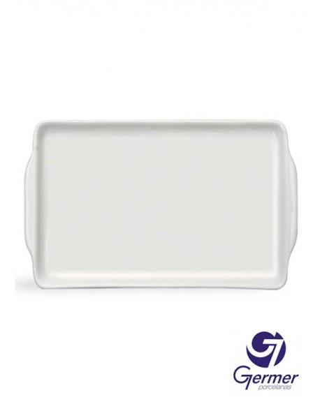 Bandeja Bolo Rei BarHotel Porcelana Branca Germer 33cm