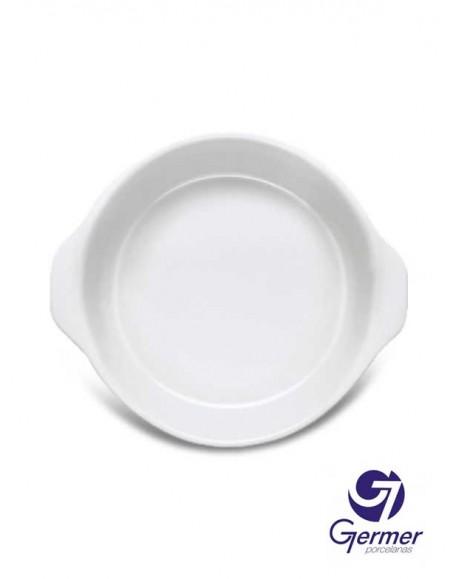 Forma MW Redonda BarHotel Porcelana Branca Germer Ø17cm
