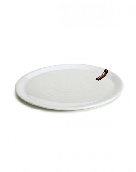Prato de Pizza Porcelana Branca Hércules Ø35cm