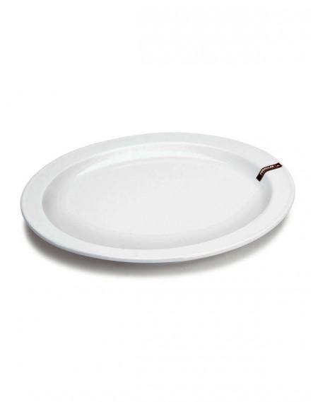 Prato de Pizza Porcelana Branca Hércules Ø40cm