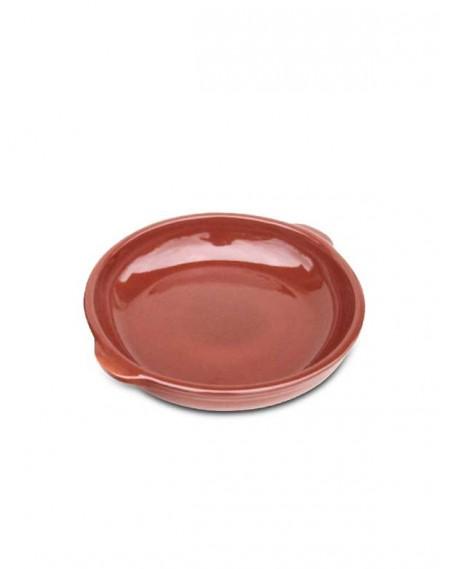 Prato Redondo com Orelhas em Cerâmica Ø20cm
