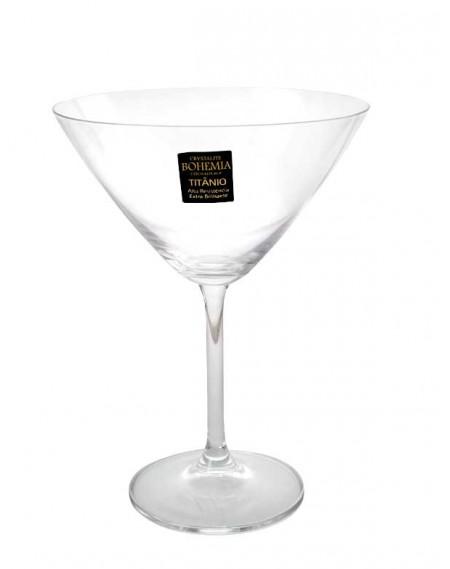 Jogo Taça Dry Martini Gastro 280ml Bohemia 6 unidades