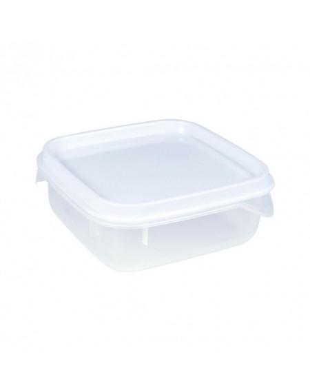 Pote de Plástico Quadrado 510 ml Moduline-Branco