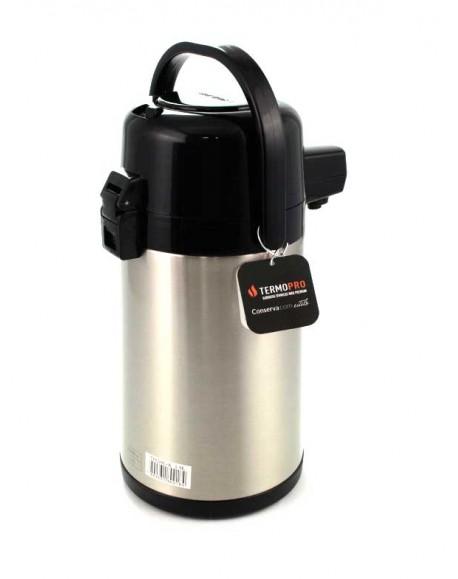 Garrafa Térmica Inox Premium Pressão 1,9L