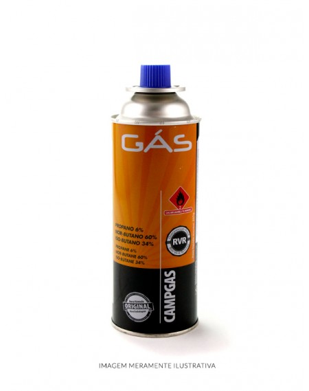 Gás Butano para Maçarico NTK 400ml