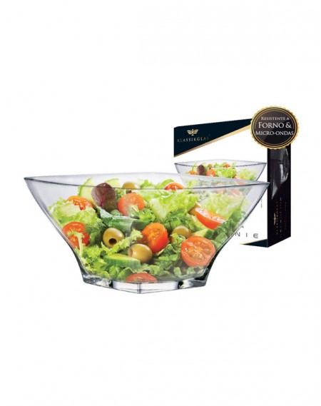 Saladeira / Sobremesa de Vidro Stephanie