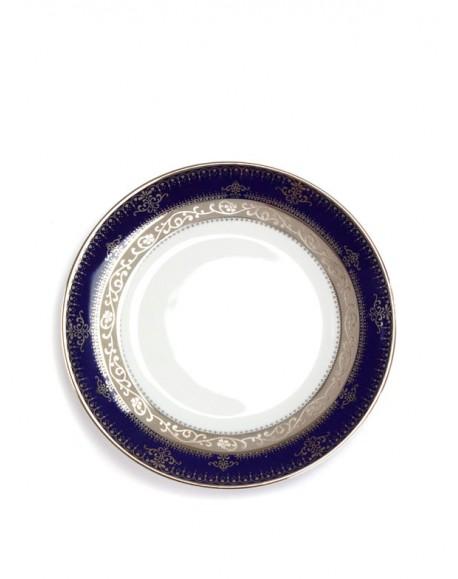 Prato para Pão Azul Luxo Ø15cm