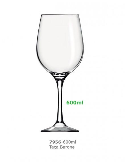 Taça Barone Degustação 600ml Nadir