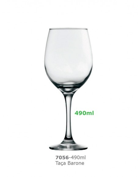 Taça Barone Vinho Tinto 490ml Nadir