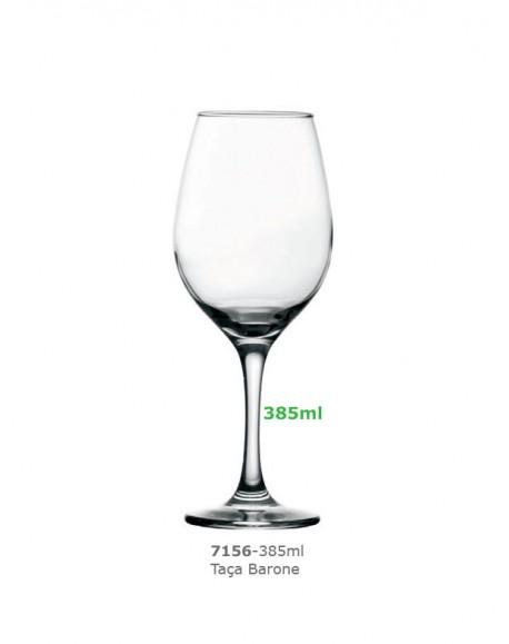 Taça Barone Vinho Tinto 385ml Nadir