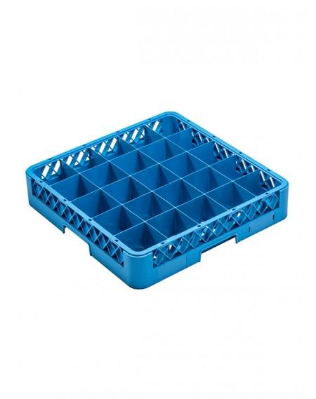 Rack para Lavagem de Copos com 25 Compartimentos + 3 Extensores