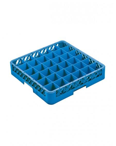 Rack para Lavagem de Copos com 36 Compartimentos + 1 Extensor