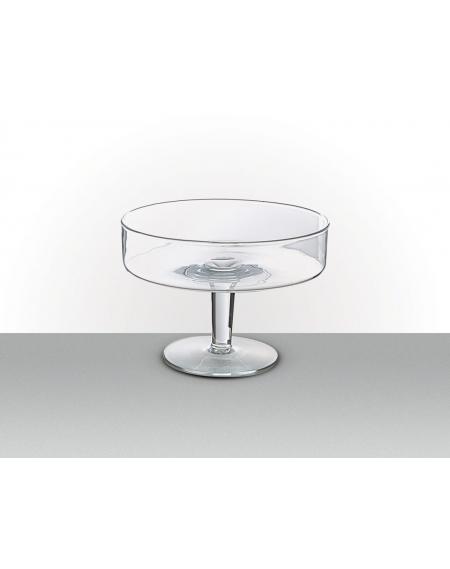 Taça de Vidro com Pé Ø25,5x18,0cm 2400ml