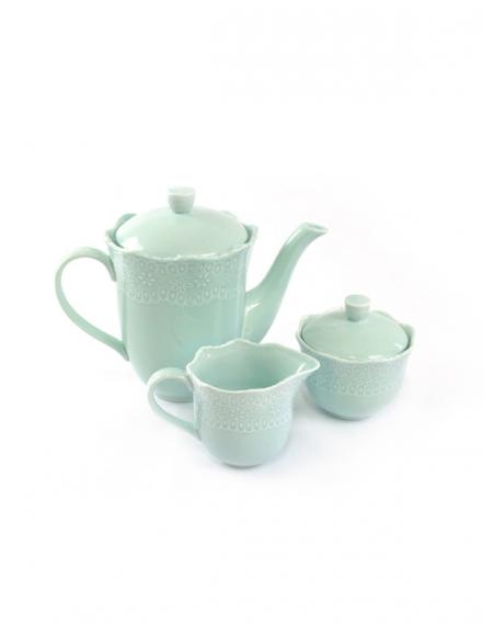 Conjunto 3 peças para Chá e Café Princesa