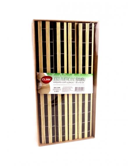 Jogo Americano Bambu 4 Peças