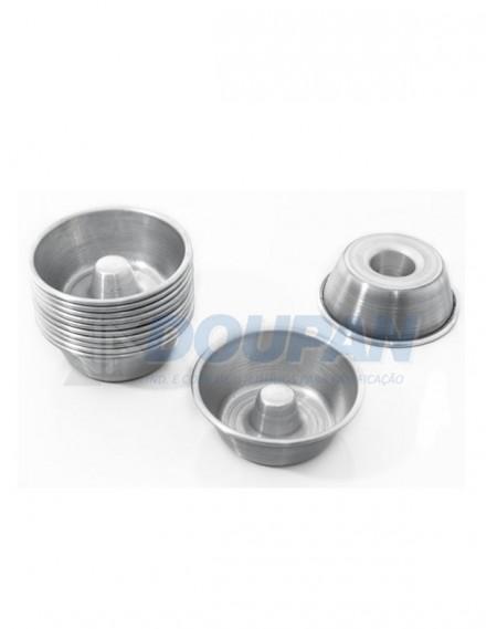 Forminha Alumínio Torta Suiça Mini N°0 - 5,0cm