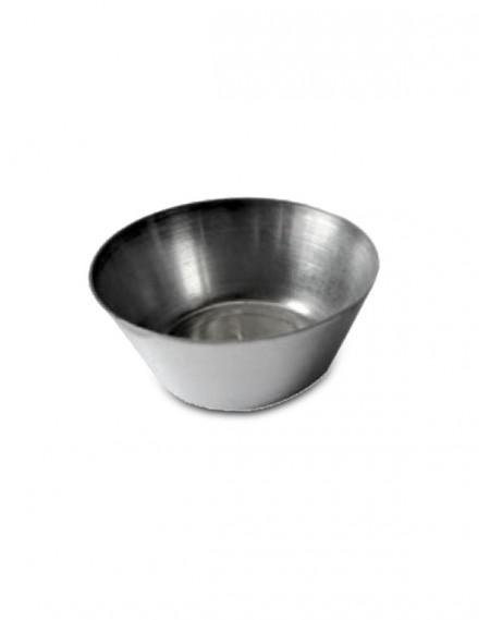 Forminha Alumínio Empada Lisa n°00 - 12 Unidades