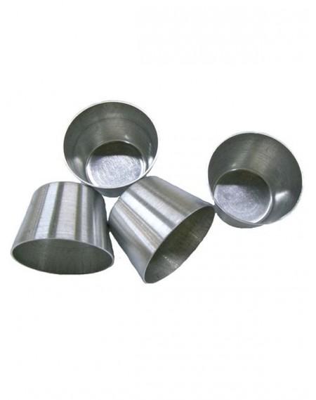 Forminha Alumínio Bombocado Nº4 - 12 Unidades