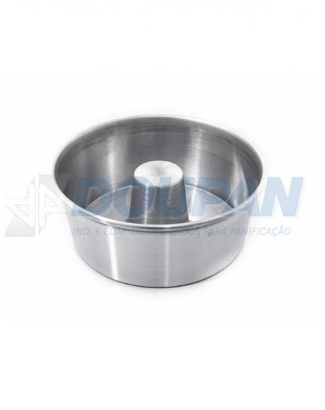 Forma Alumínio p/ Torta Suiça - 17x8x19,4cm