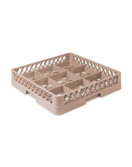 Rack p/ Lavagem de Copos c/ 9 Compartimentos + 1 Extensor