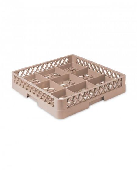 Rack p/ Lavagem de Copos c/ 9 Compartimentos + 3 Extensores